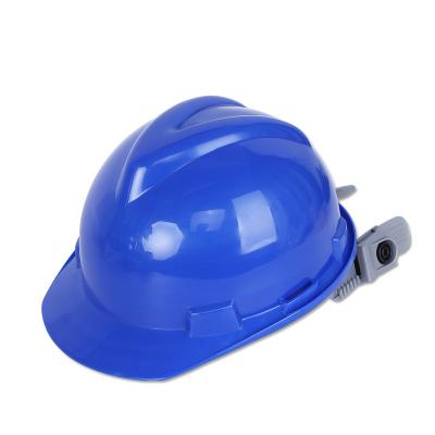 厂家V型HDPE安全帽户外工地标准工业防护安全头盔