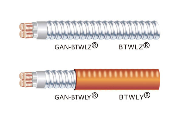 BTWLZ、BTWLY(铝合金护套)